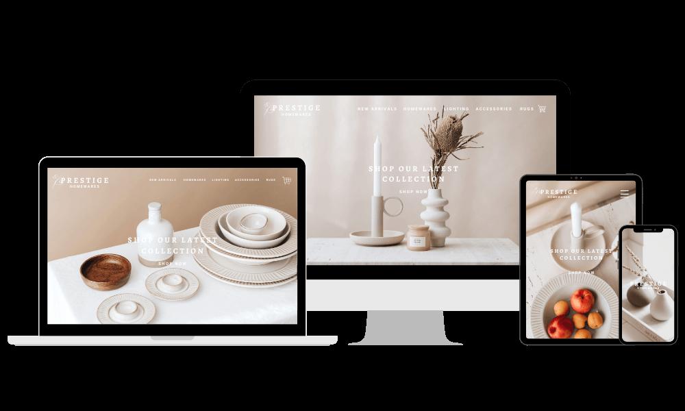 brandier co website design