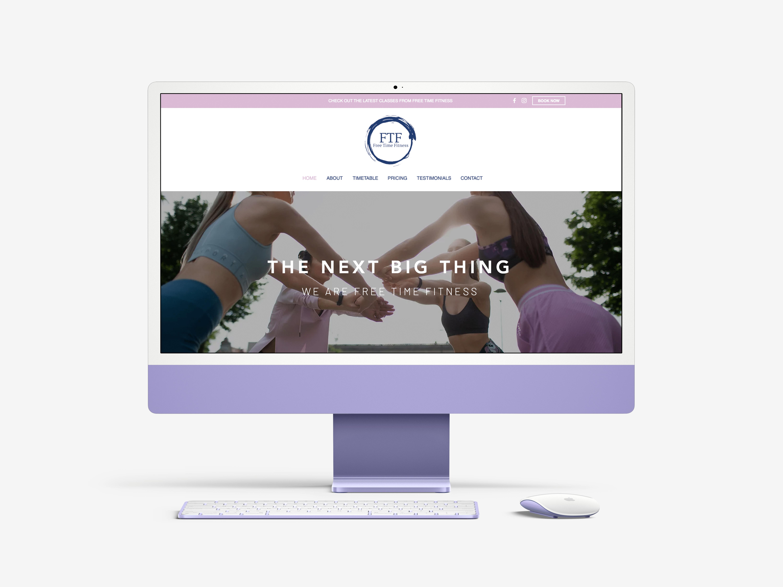 FreeTime Wix Website Design